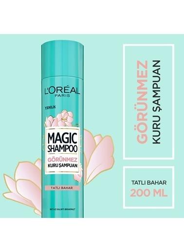 L'Oréal Paris Magic Shampoo Görünmez Kuru Şampuan 200Ml -Tatlı Bahar Renksiz
